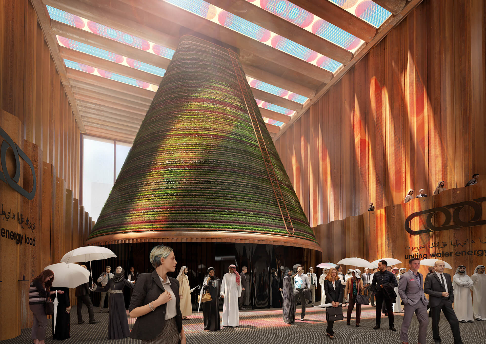 Solar Roof for World Expo Dubai 2021| Made in the Netherlands: Curated by Wendy Plomp | STIRworld