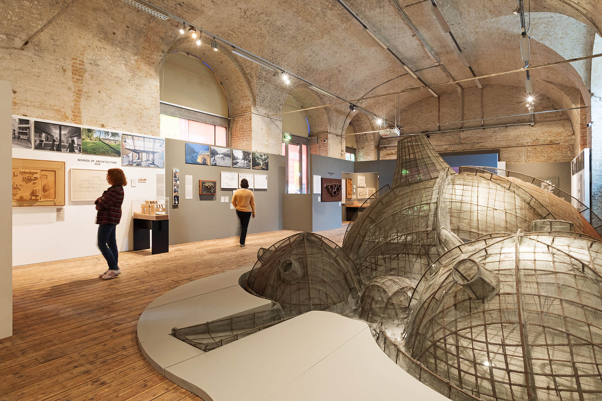 'Balkrishna Doshi: Architecture for the People' exhibited at Architekturzentrum Wien, Austria | BV Doshi | STIRworld