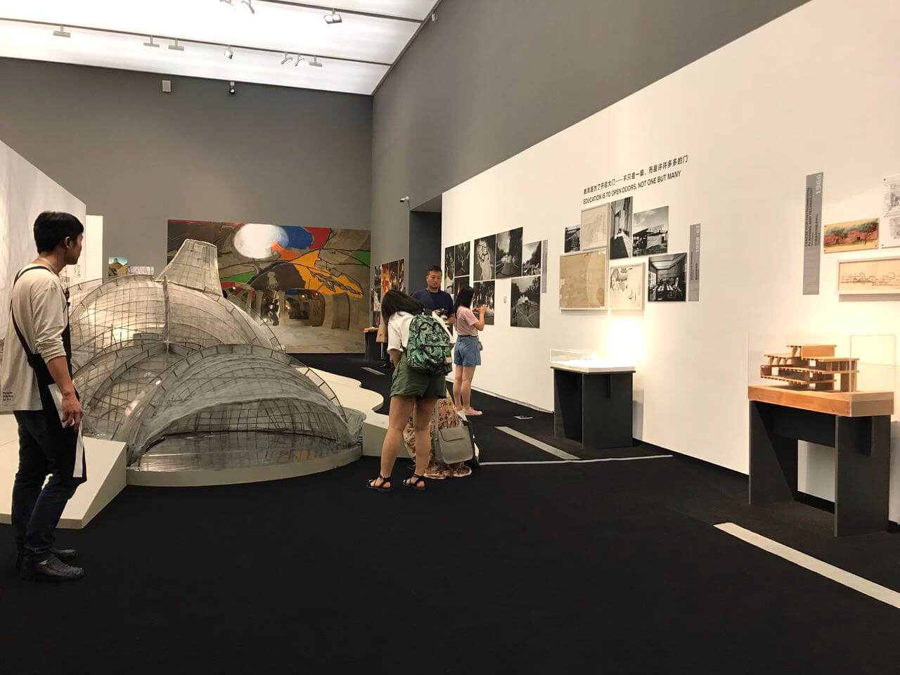 'Celebrating Habitat: The Real, the Virtual & the Imaginary' exhibited at the Power Station of Art Museum in Shanghai, China in 2017| BV Doshi | STIRworld