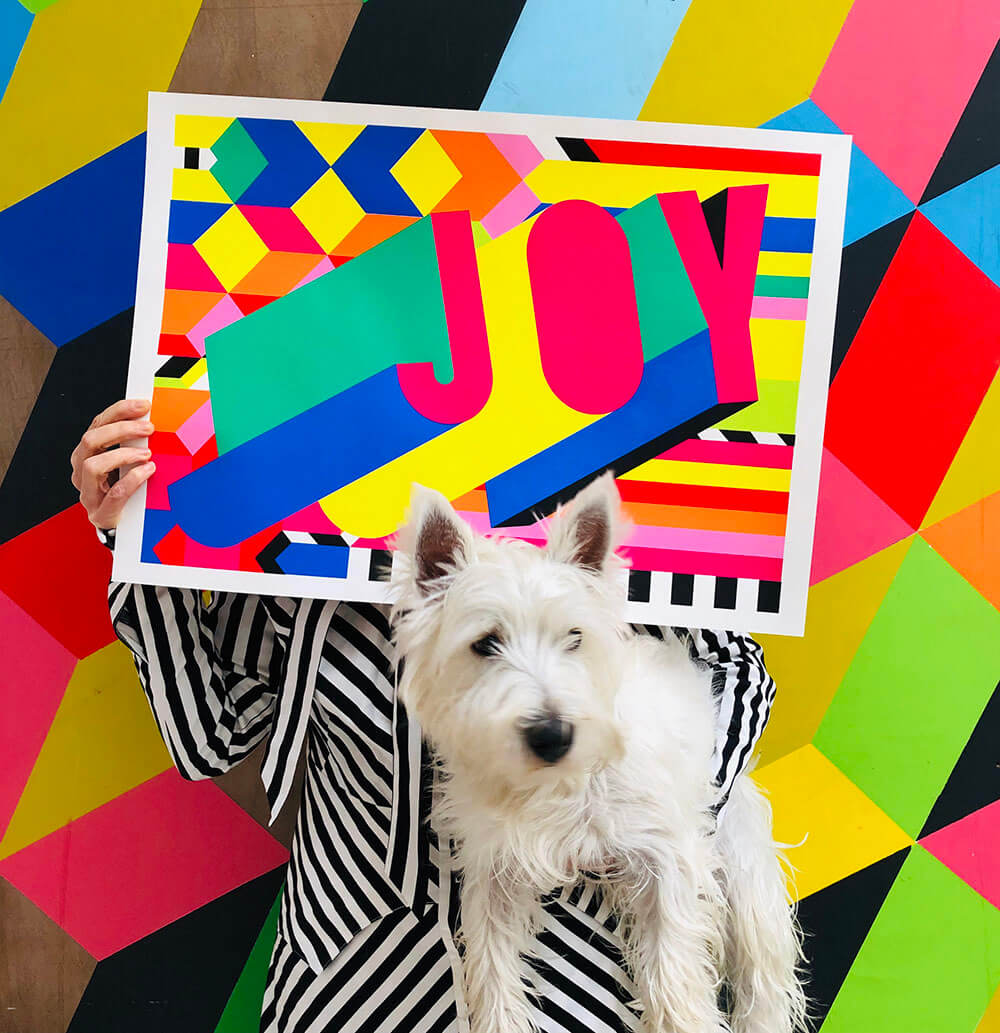 Morag Myerscough's mantra is 'make happy those who are near and those who are far will come' | Cross Border Conversations | Morag Myerscough X Neil Harbisson | STIR X LOCO Design