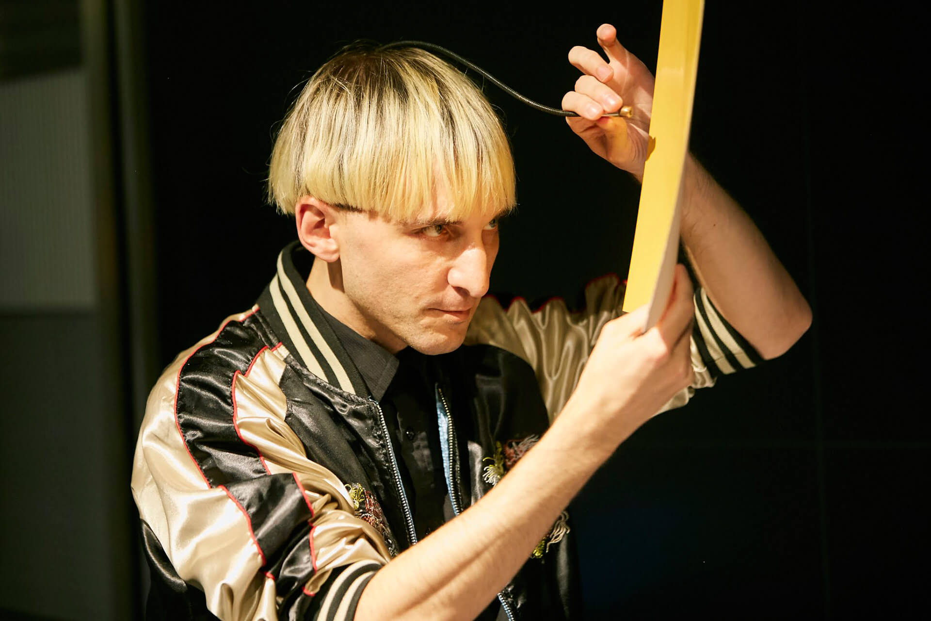 World's first human cyborg, Neil Harbisson has an antenna implanted in his skull that allows him to hear colours | Cross Border Conversations | Morag Myerscough X Neil Harbisson | STIR X LOCO Design