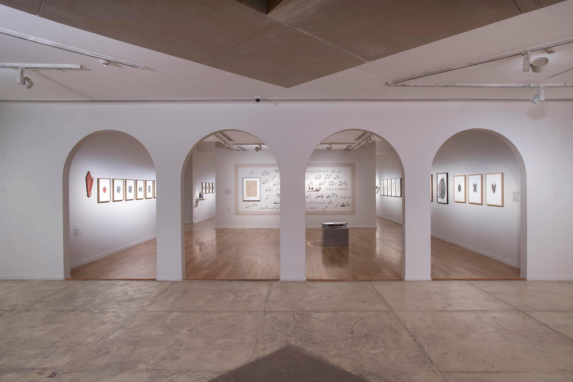 Exhibition shot: 'Zarina: A Life in Nine Lines l Across Decades • Borders• Geographies' | STIRworld