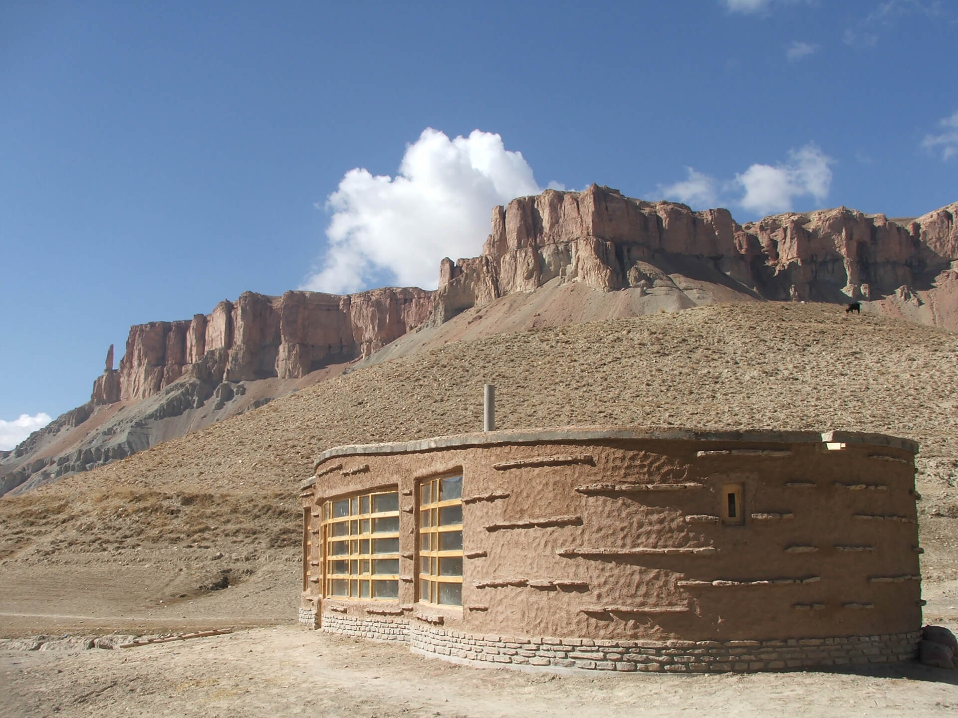 Band-e-Amir National Park Visitor-cum-Community Center, Bamyan, Afghanistan | Cross Border Conversations | Pradip Krishen X Prof. Anne Feenstra | STIR X LOCO Design