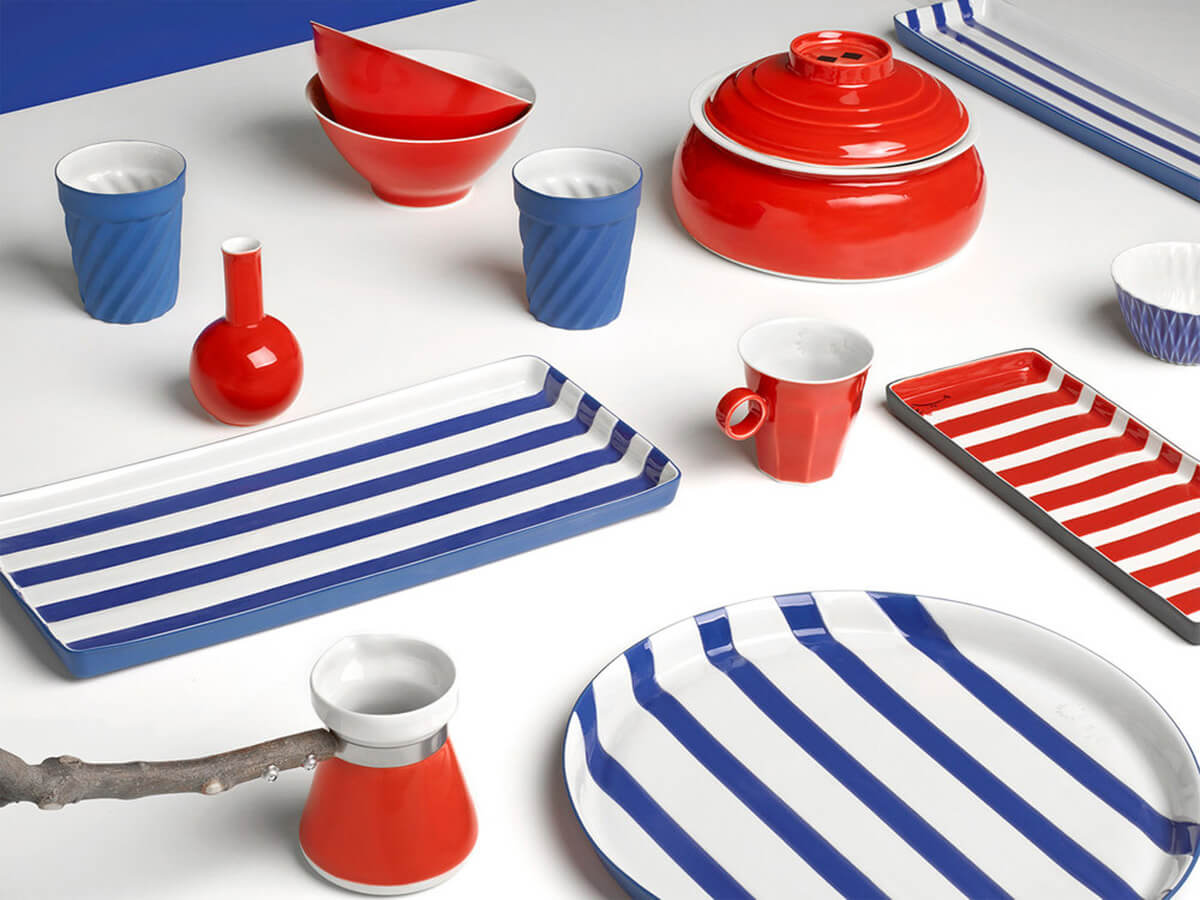 Homeware porcelain pieces by Tulya Madra | Made in Turkey: Curated by Arhan Kayar | STIRworld