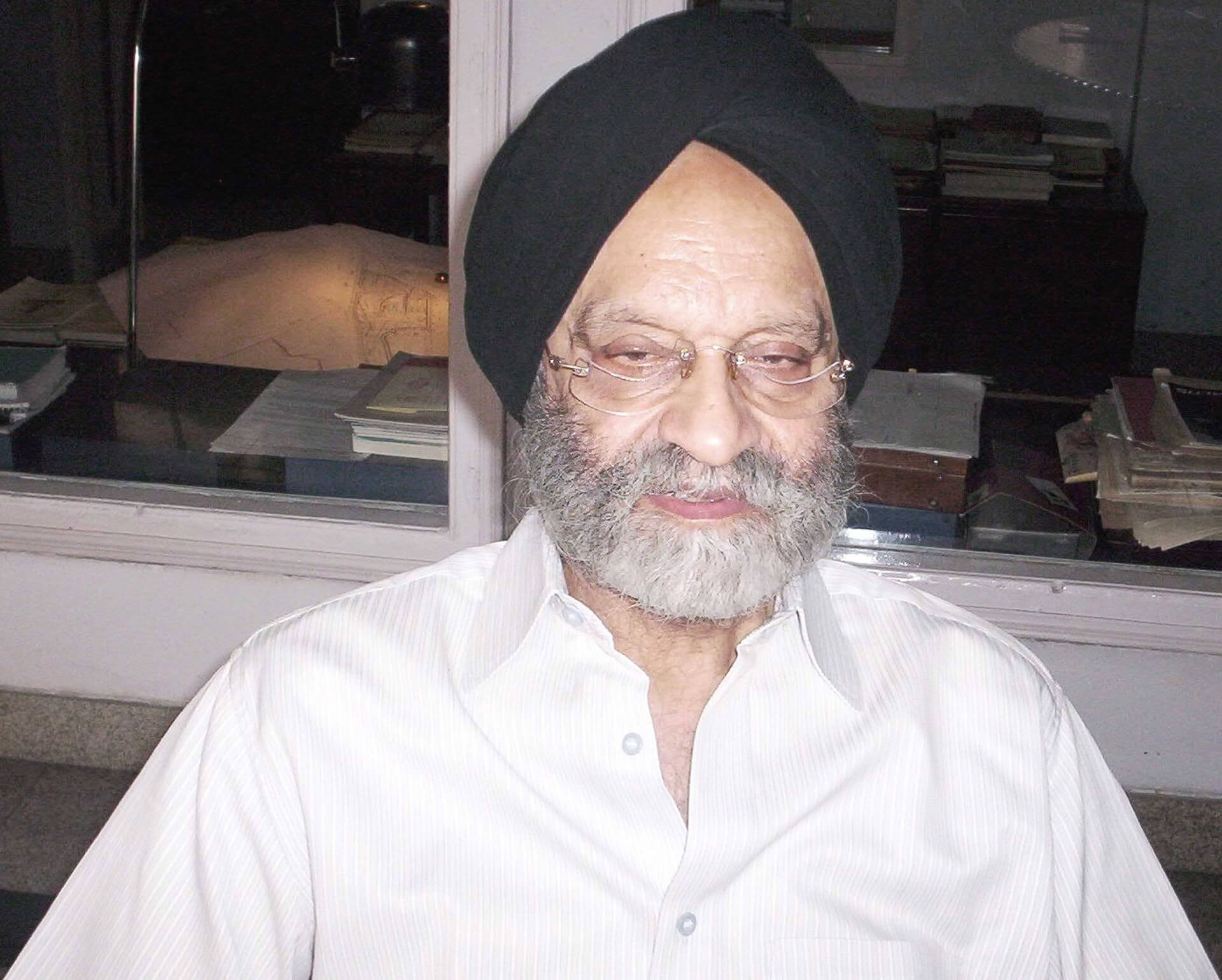 Kuldip Singh at his office in Delhi | Kuldip Singh tribute | STIRworld
