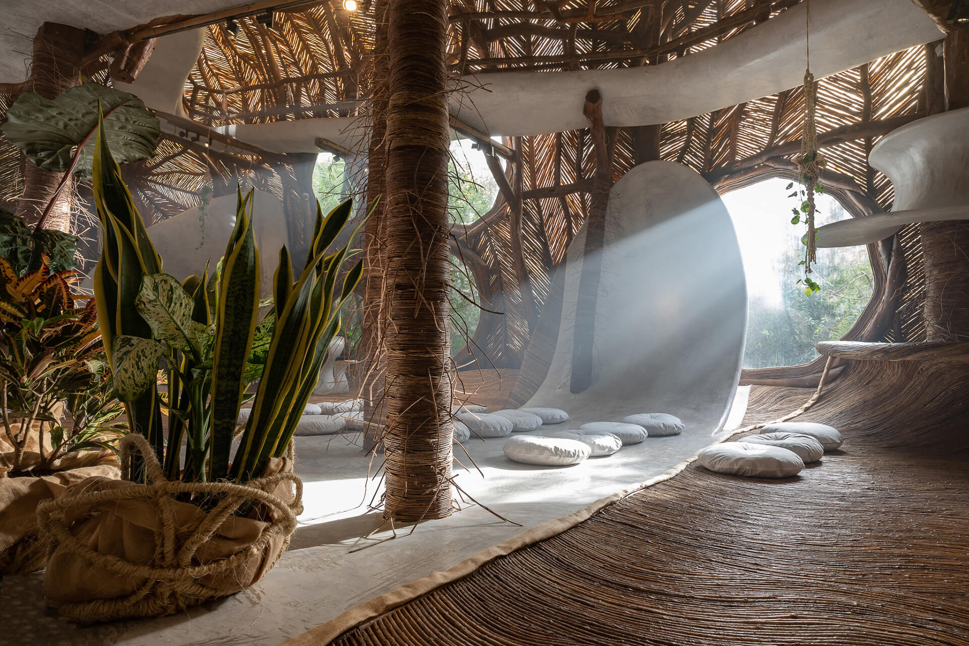 SFER_IK, Tulum, is an integrally experiential art and cultural museum that follows the natural contour of the ground | Eduardo Neira, Roth Interview | Roth Architecture | STIRworld