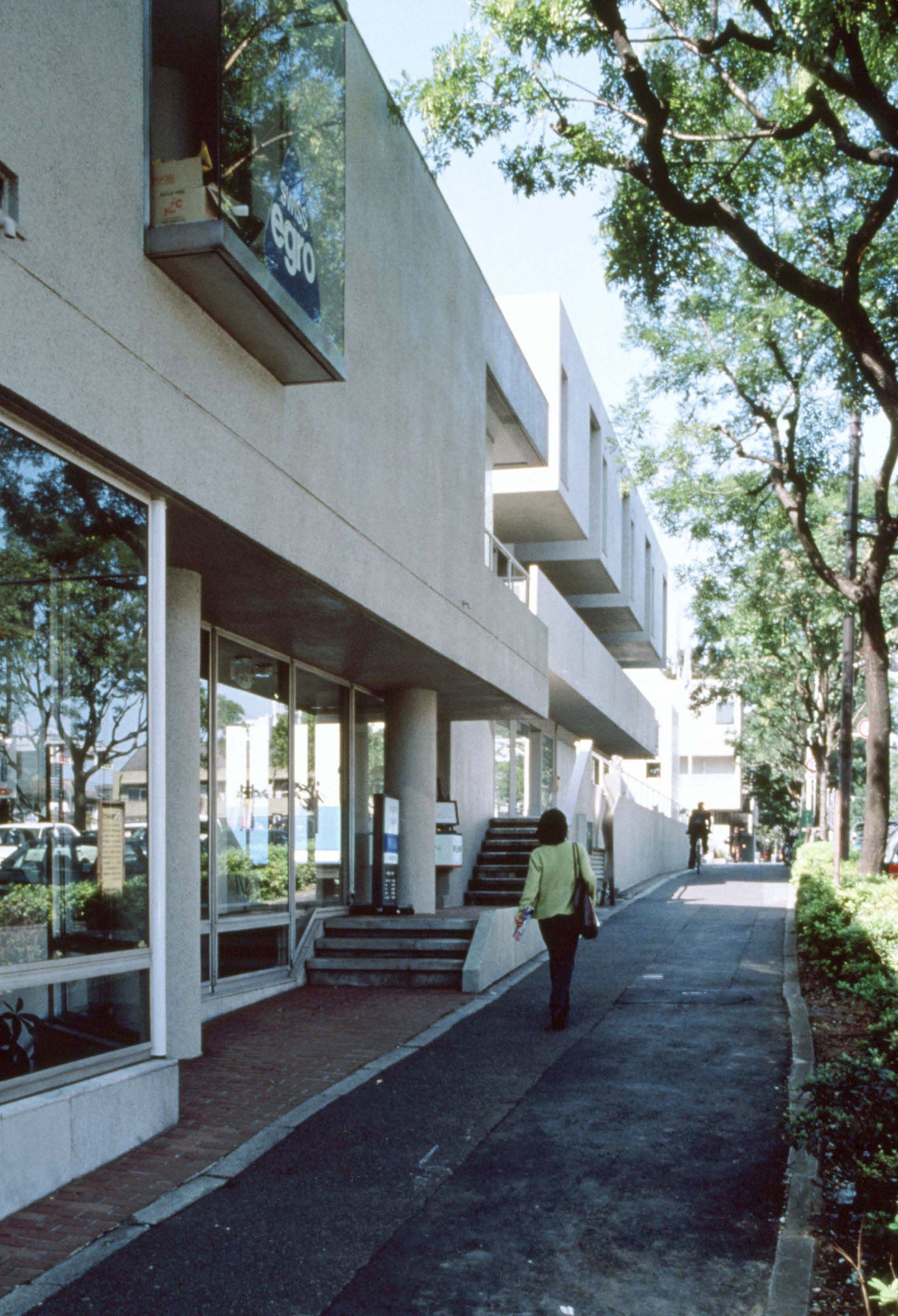 Hillside Terrace, Tokyo. Project completed over seven phases, 1969-1998, Phase 1, 1969| Fumihiko Maki| Maki and Associates| STIR