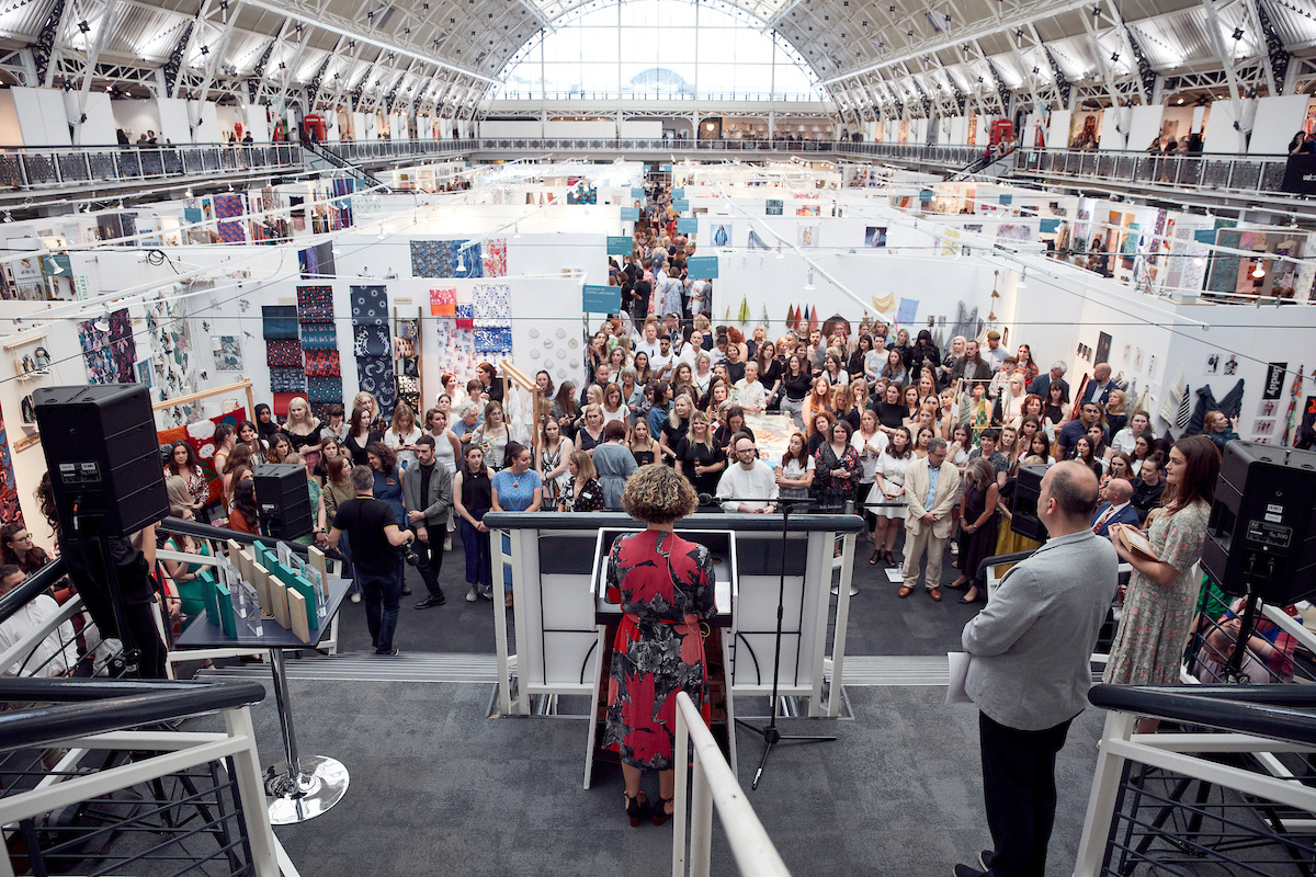 New Designers exhibition opening at Business Design Centre | London|STIR