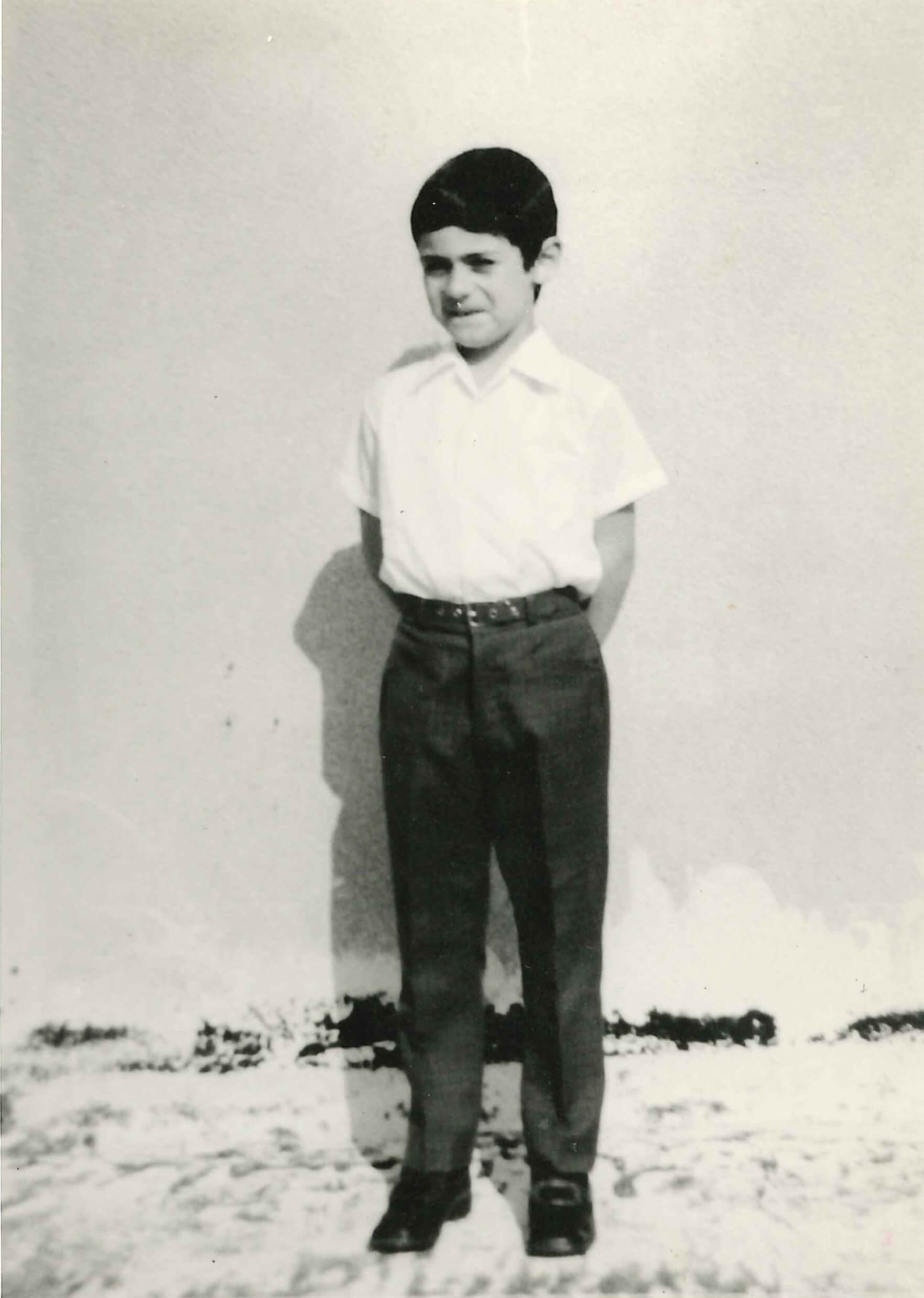 Arik Levy at the age of six, Tel Aviv | STIRrring Conversations: Frida Escobedo x Arik Levy | STIRworld