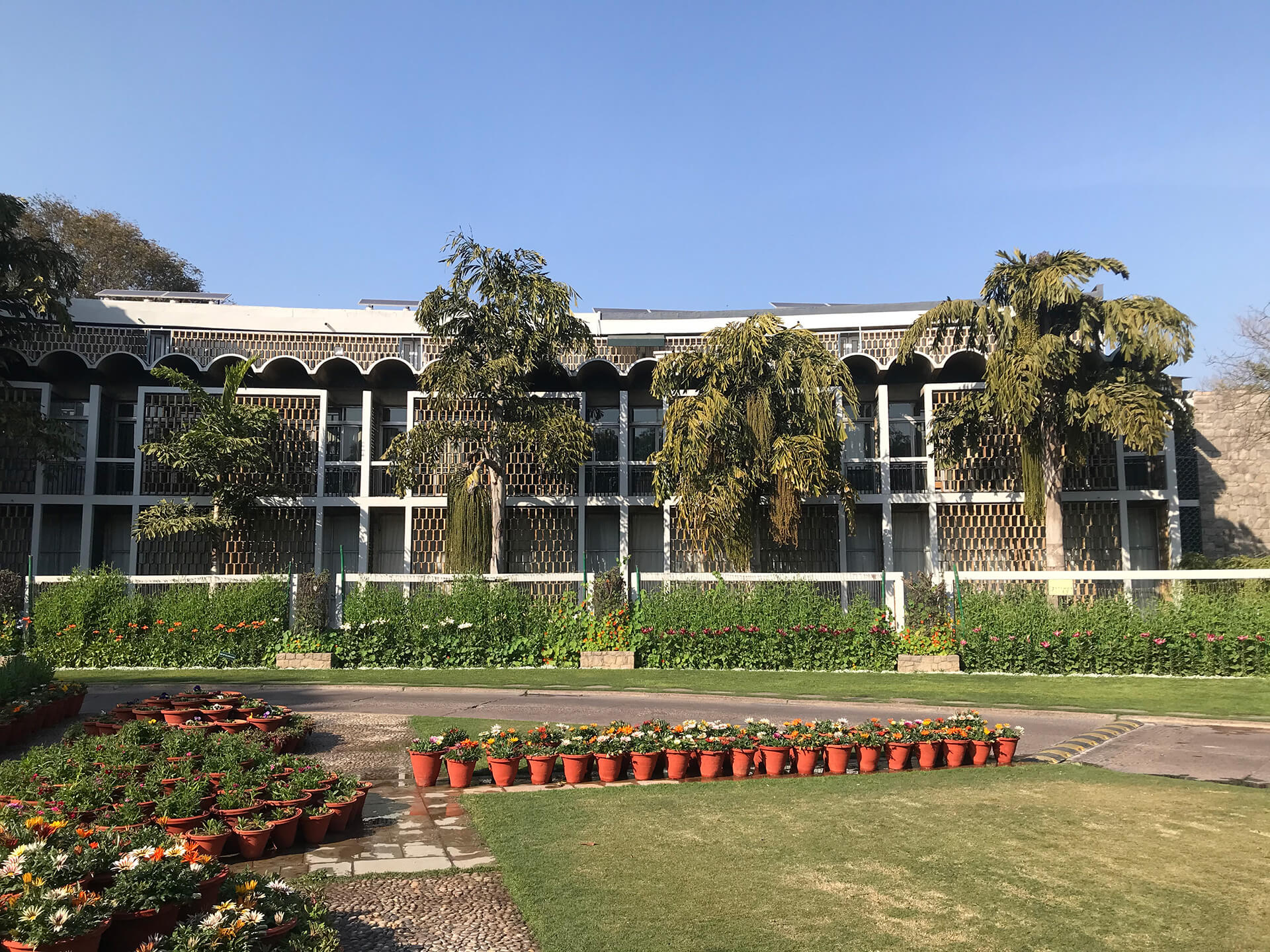 The India International Centre, another signature Stein building near Lodhi Estate, Steinabad | Tribute to Joseph Allen Stein | Joseph Allen Stein | STIRworld
