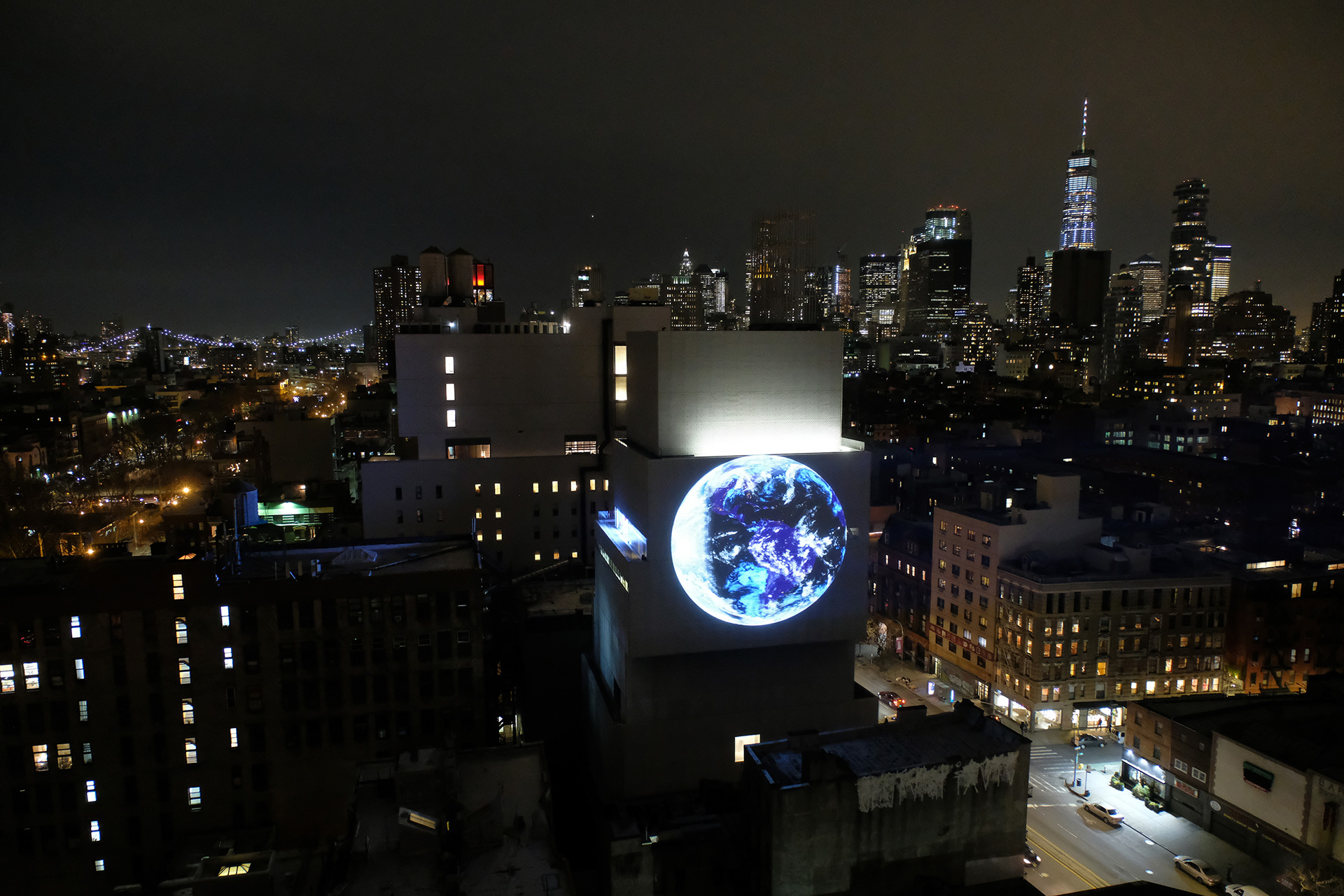 'blue marble' at the New Museum, Manhattan | blue marble | Sebastian Errazuriz | STIR