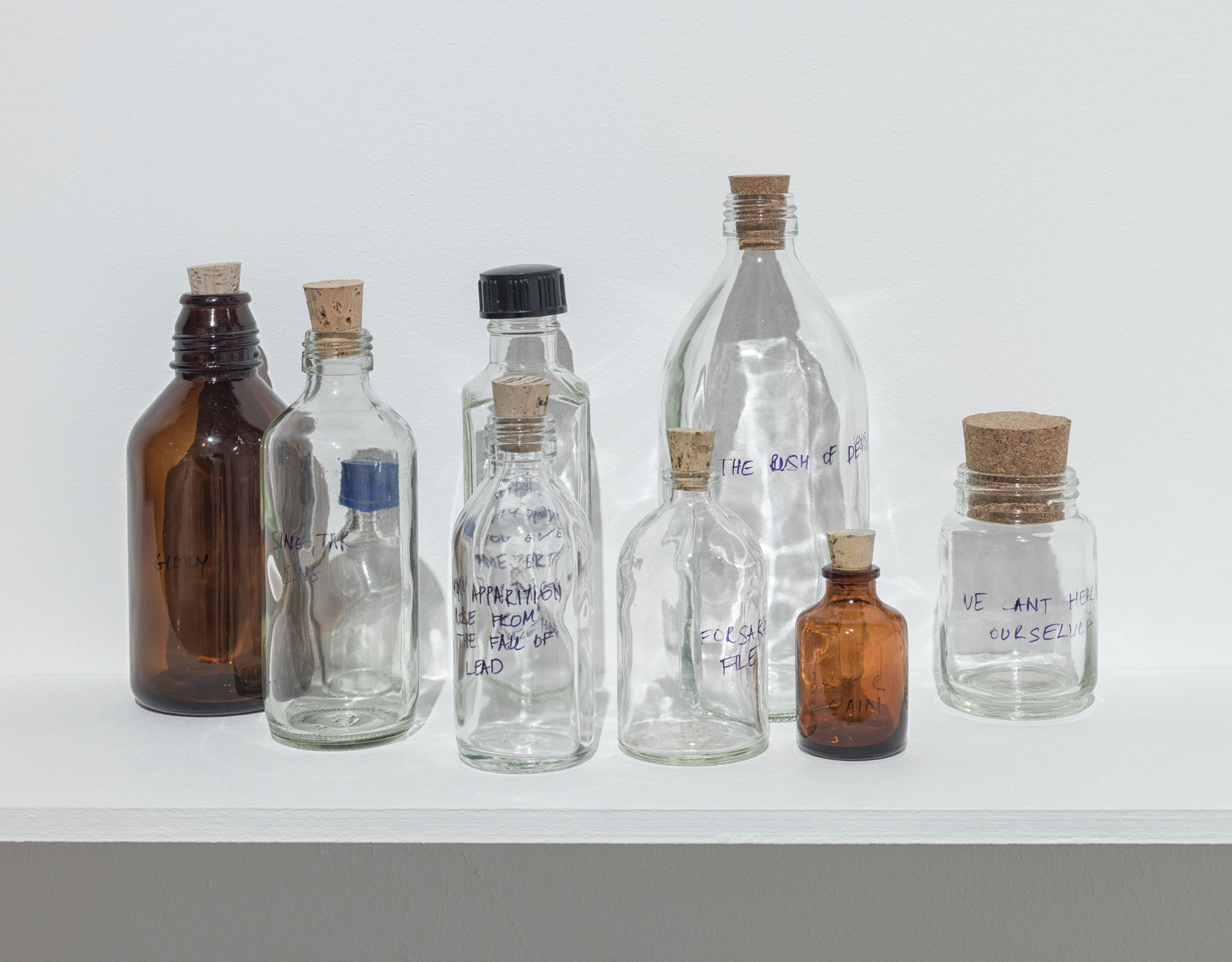 Shilpa Gupta, Untitled, A spoken poem in a bottle, Photograph, 2018| For, In Your Tongue I Cannot Hide - 100 Jailed Poets| Shilpa Gupta| STIR
