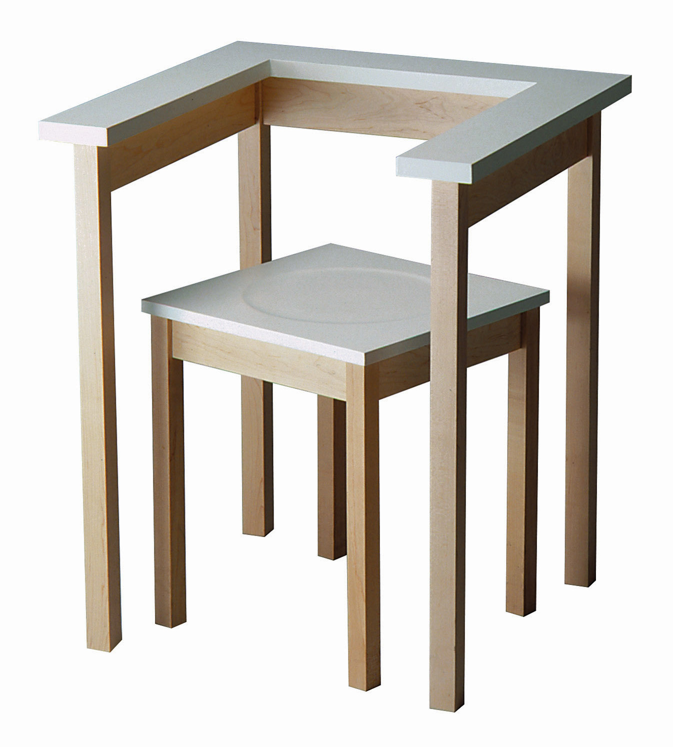 Table Chair - an example of conceptual design (1990)| Cross Border Conversations| Richard Hutten, Rupesh Baid| STIR