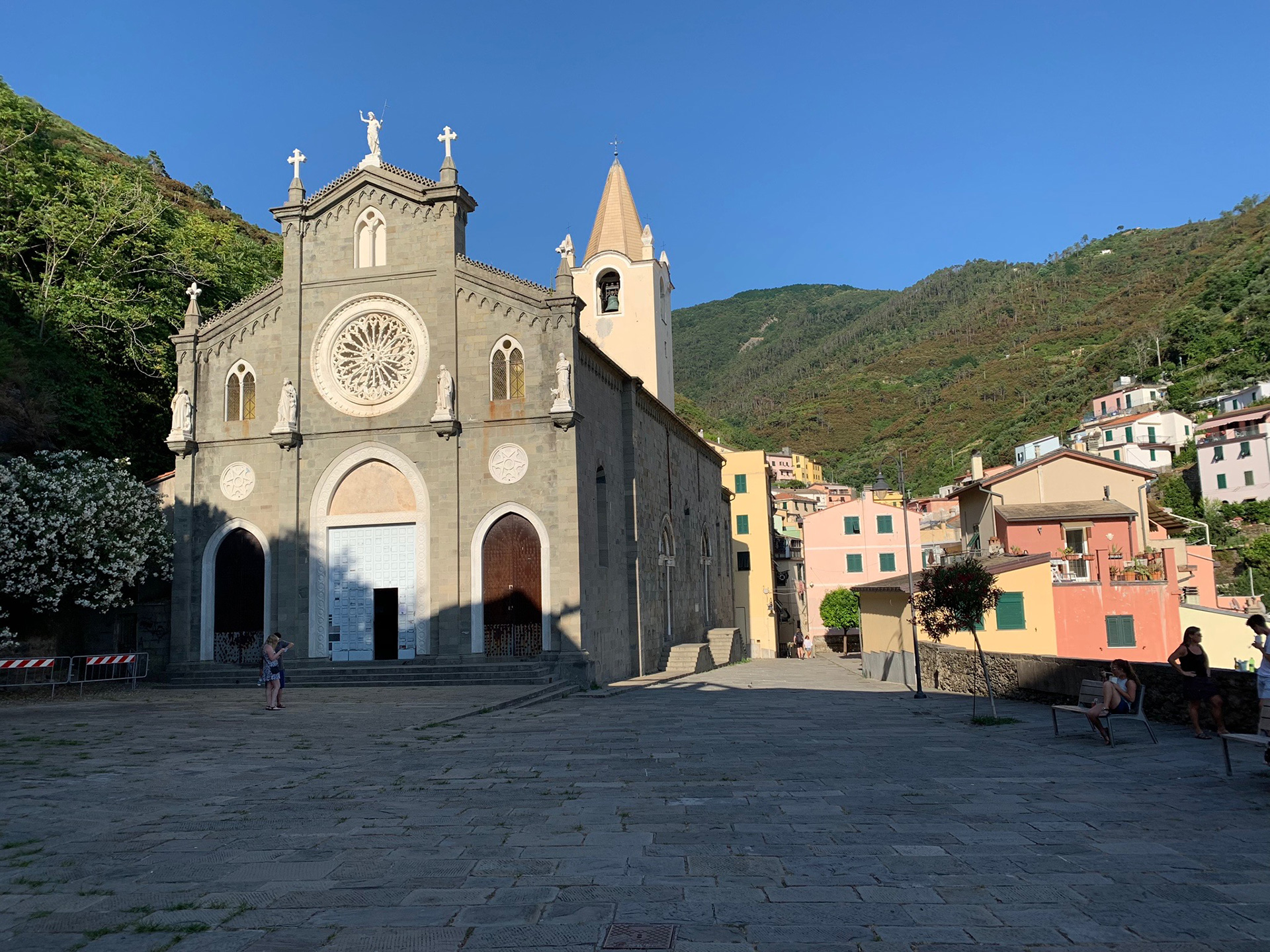 A modest church in Cinque Terre | Cinque Terre| Italy| STIR