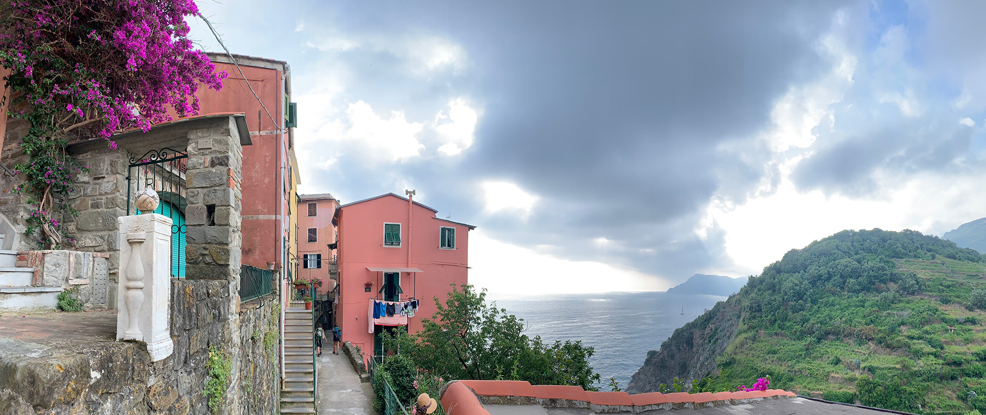 Colourful homes against the quaint blue sky in Cinque Terre | Cinque Terre| Italy| STIR