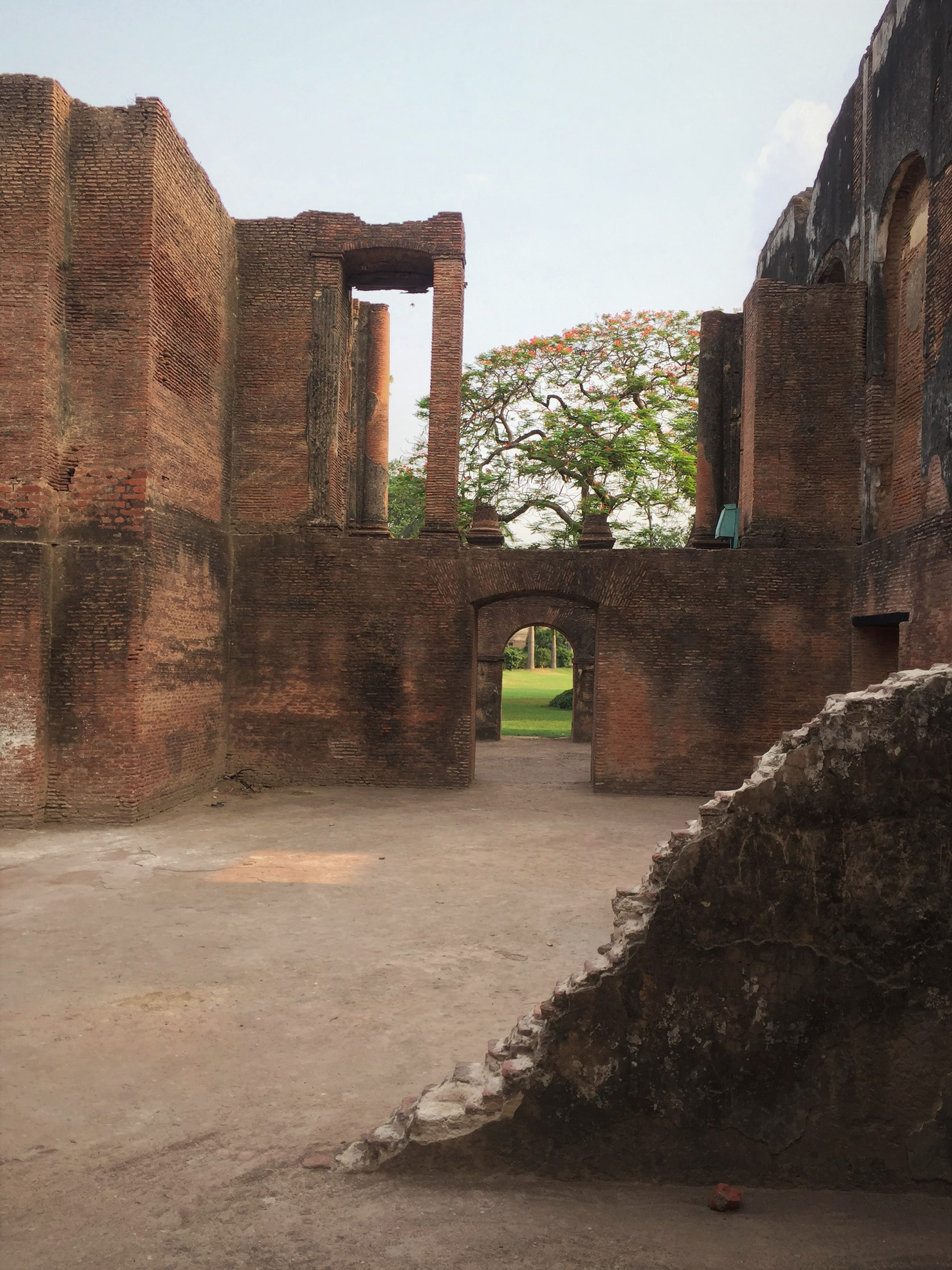 The ruin now is a part of the landscape that it so desired to be with| The Residency| Lucknow| Soumitro Ghosh| STIR