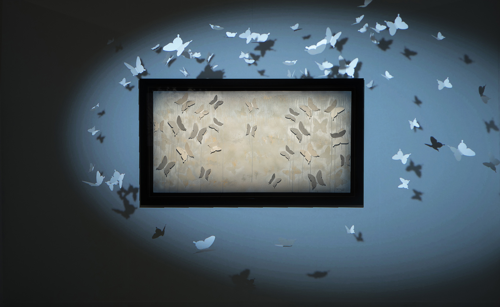 Mapping Frost, a multi-media installation | Introspection | Michelle Poonawalla | STIR