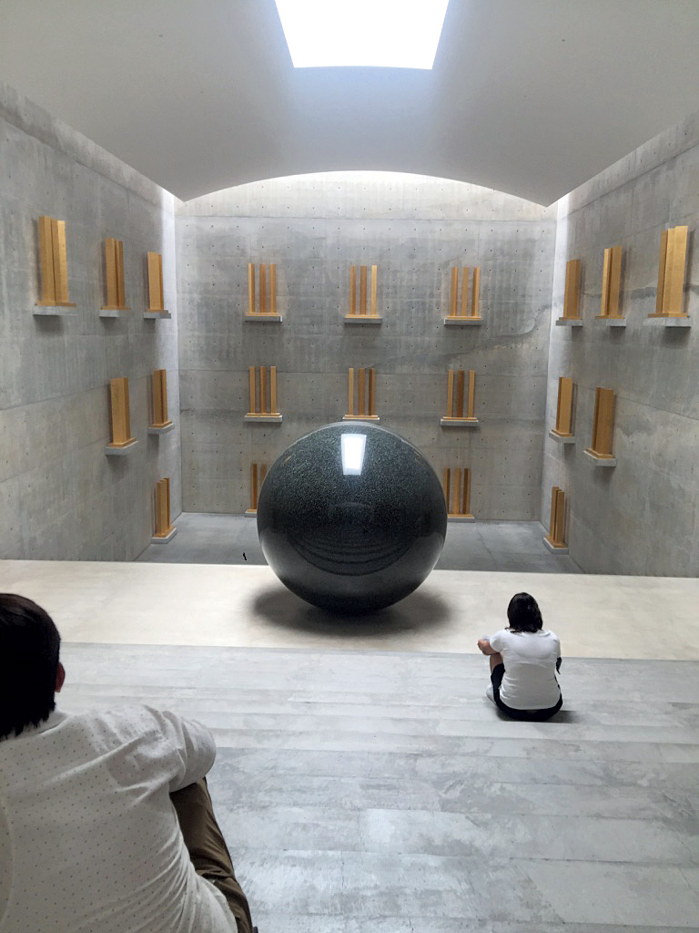 Time/ Timeless/ No Time by Walter de Maria at Chichu Art Museum, Naoshima | Dtours India | Japan | STIR