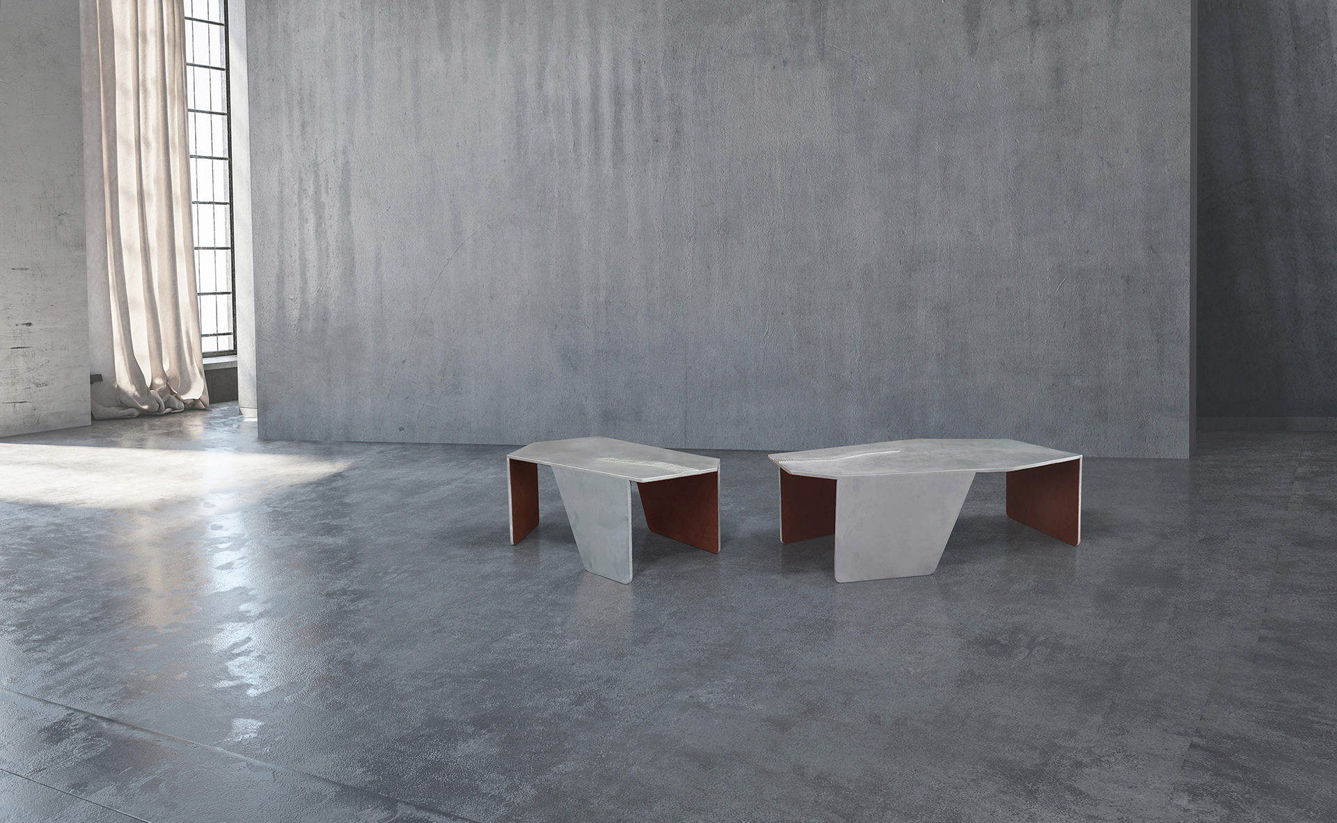 Coffee table by MUAR, inspired by the poem Las Lenguas de Diamante and La Estrella | Poetic Forms | Juana de Ibarbourou | London Design Festival | STIR