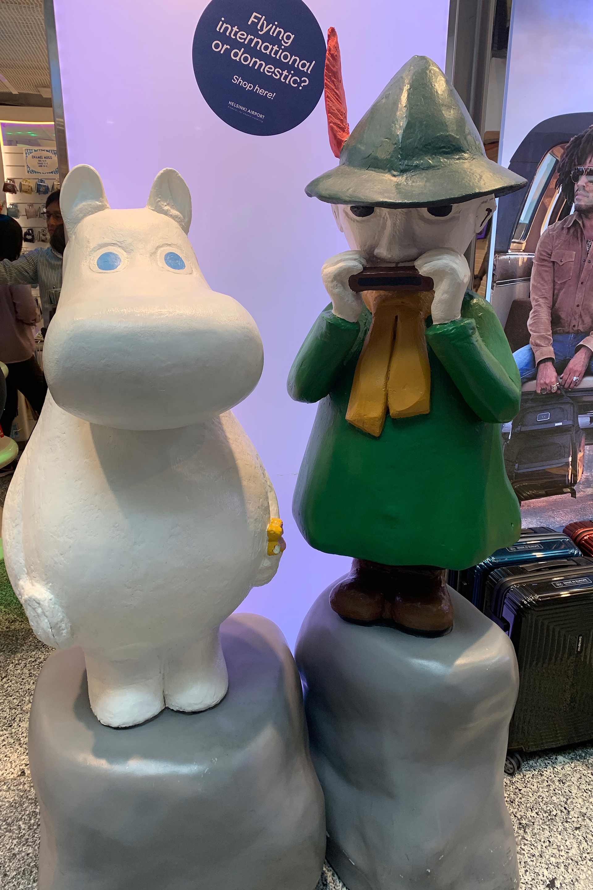 Mirthful Moomin character - shaped like jolly hippopotami with a belly full of laughs| Helsinki | Finland| STIRworld