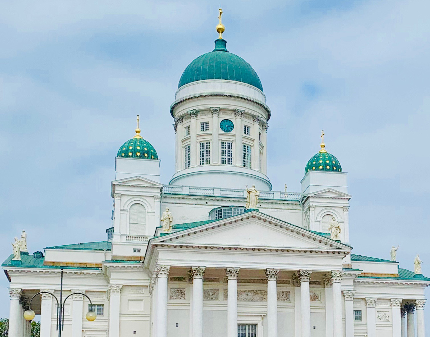 The neoclassical, green-domed Lutheran Cathedral | Helsinki | Finland| STIRworld