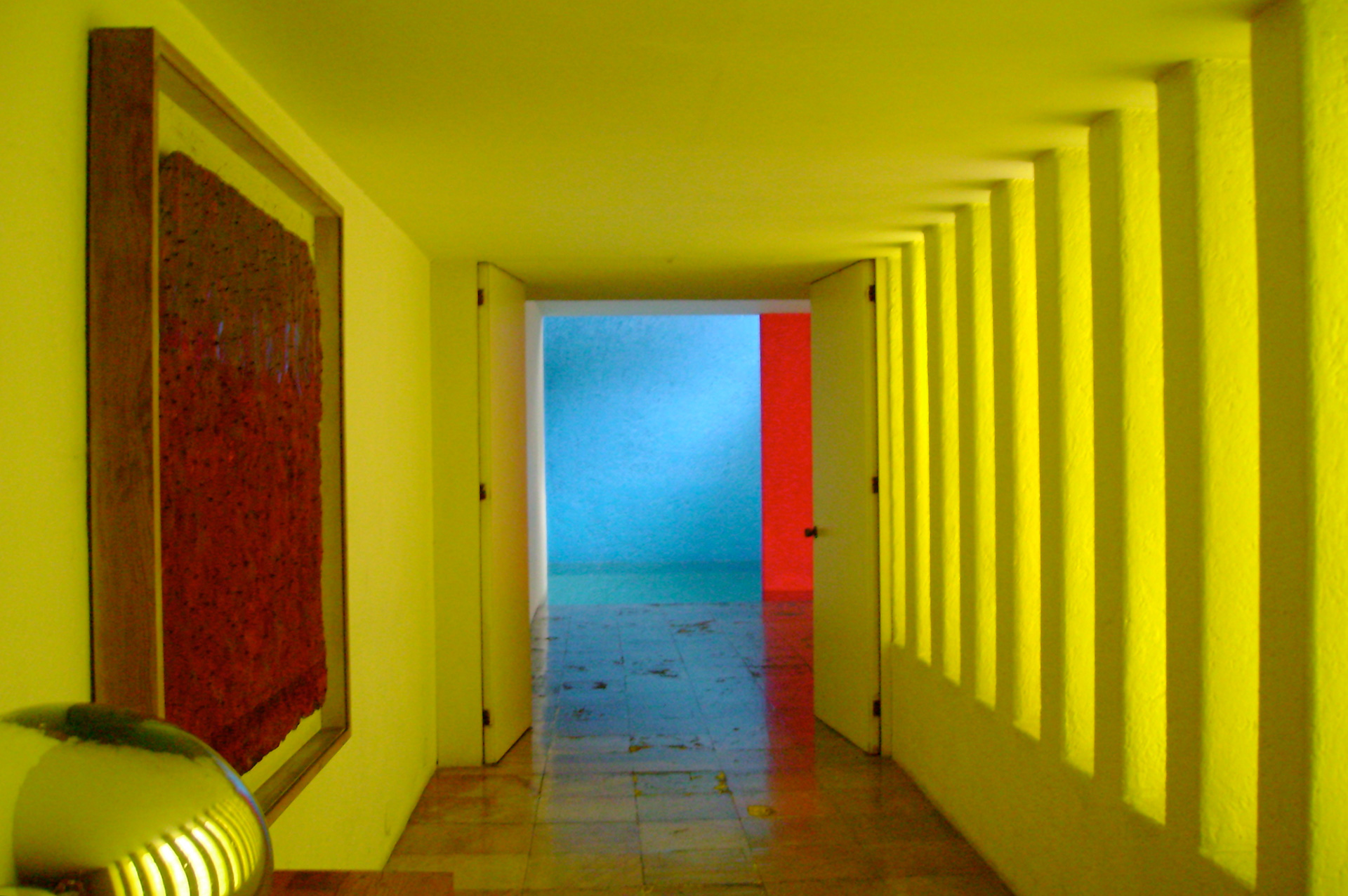 Interior of Casa Gilardi, by Luis Barragán, in Mexico City, Mexico | Luis Barragán | STIRworld