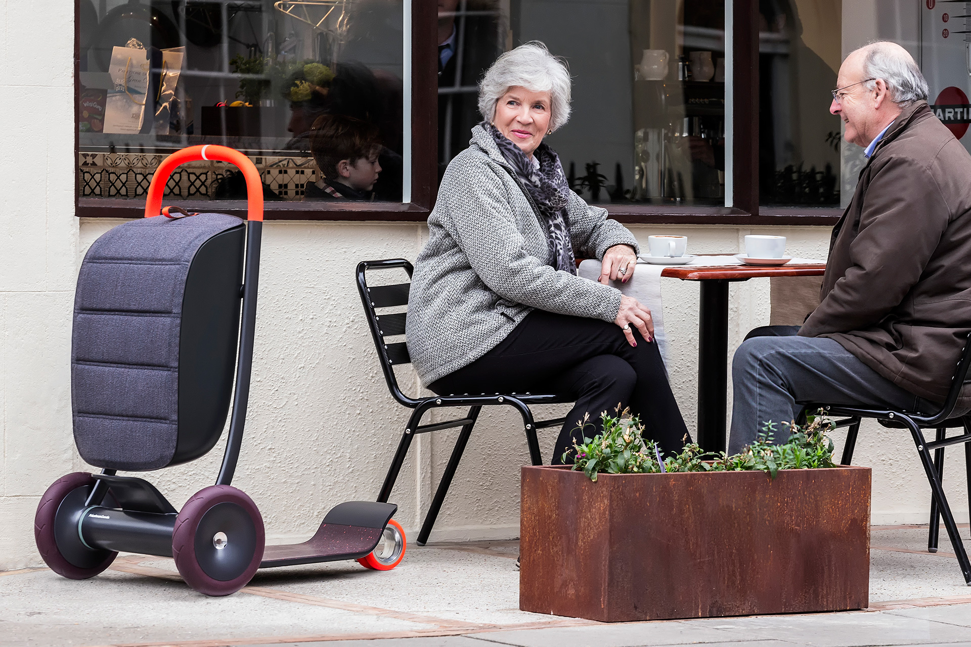The Scooter aims to provide independence through mobility in old age