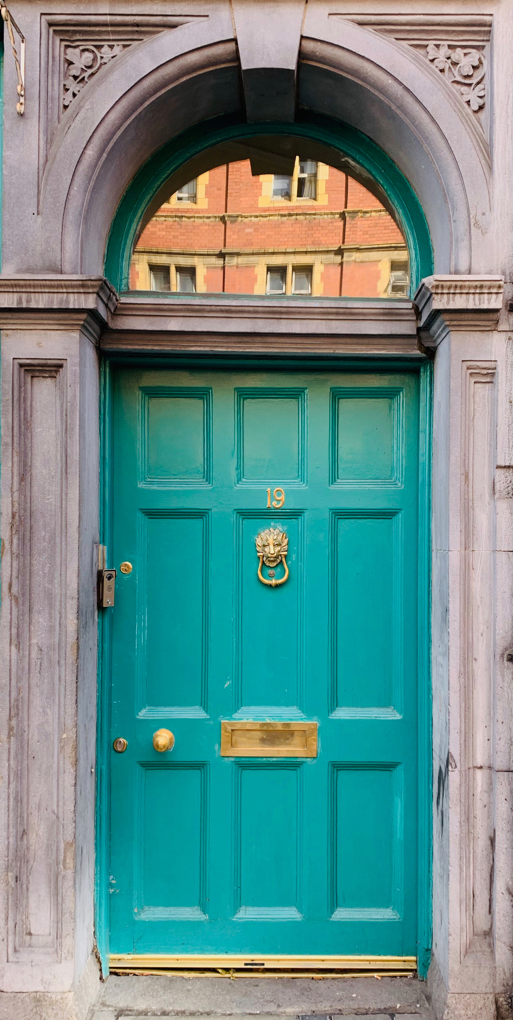Regal Turquoise – the eclectic doors of Dublin | Dublin | STIRworld