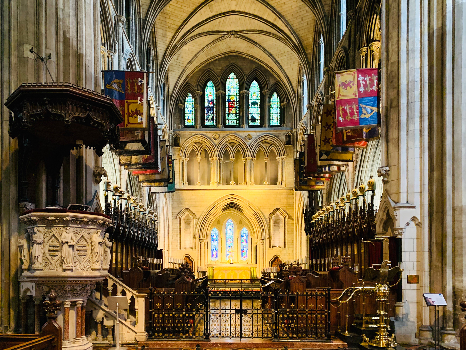 Inside St. Patrick's Cathedral | Dublin | STIRworld