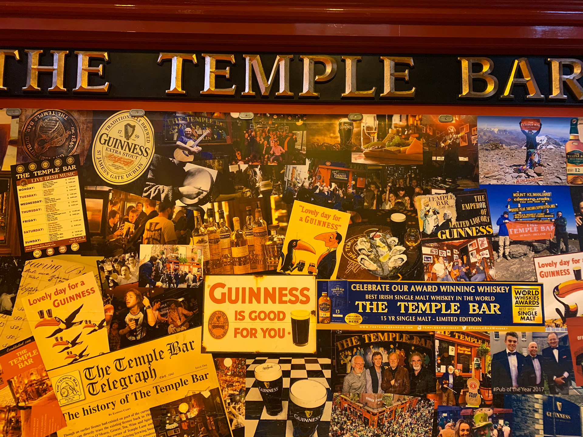 Inside the Temple Bar | Dublin | STIRworld