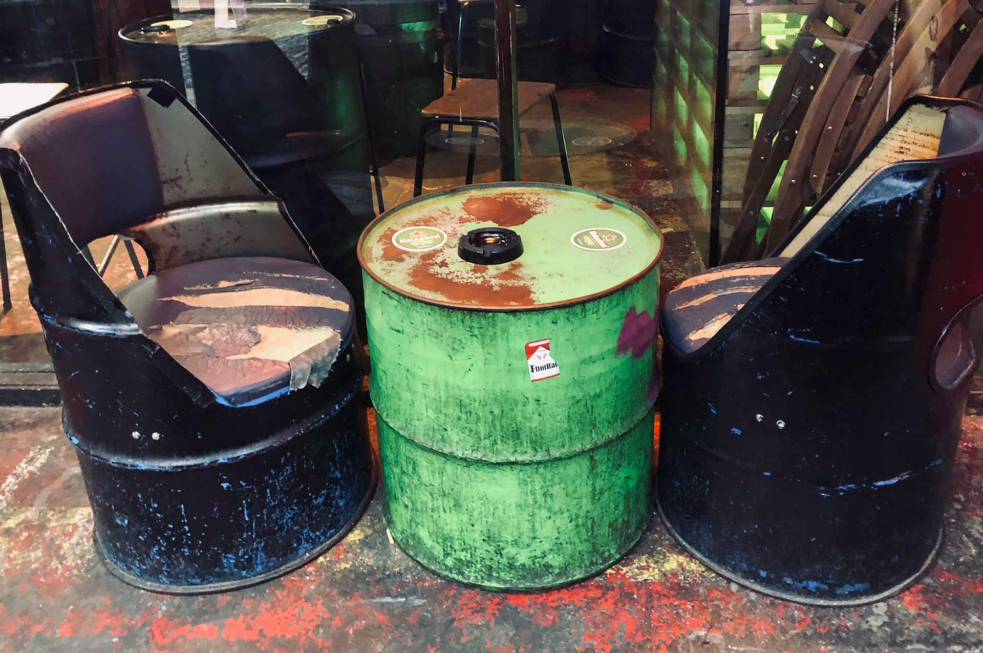 Discarded drums serve a new purpose | Dublin | STIRworld