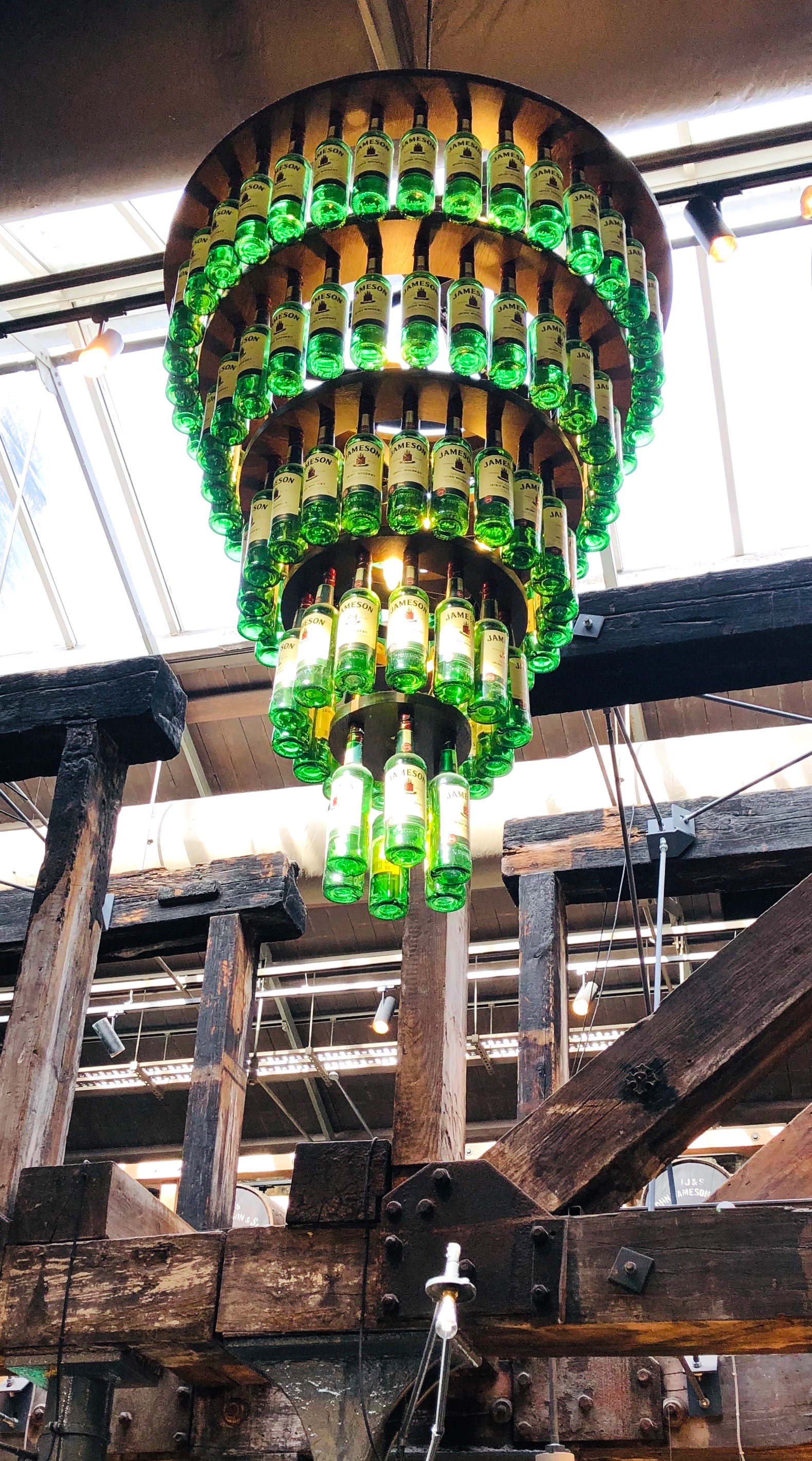 Can one guess how many green bottles are hanging above?  | Dublin | STIRworld