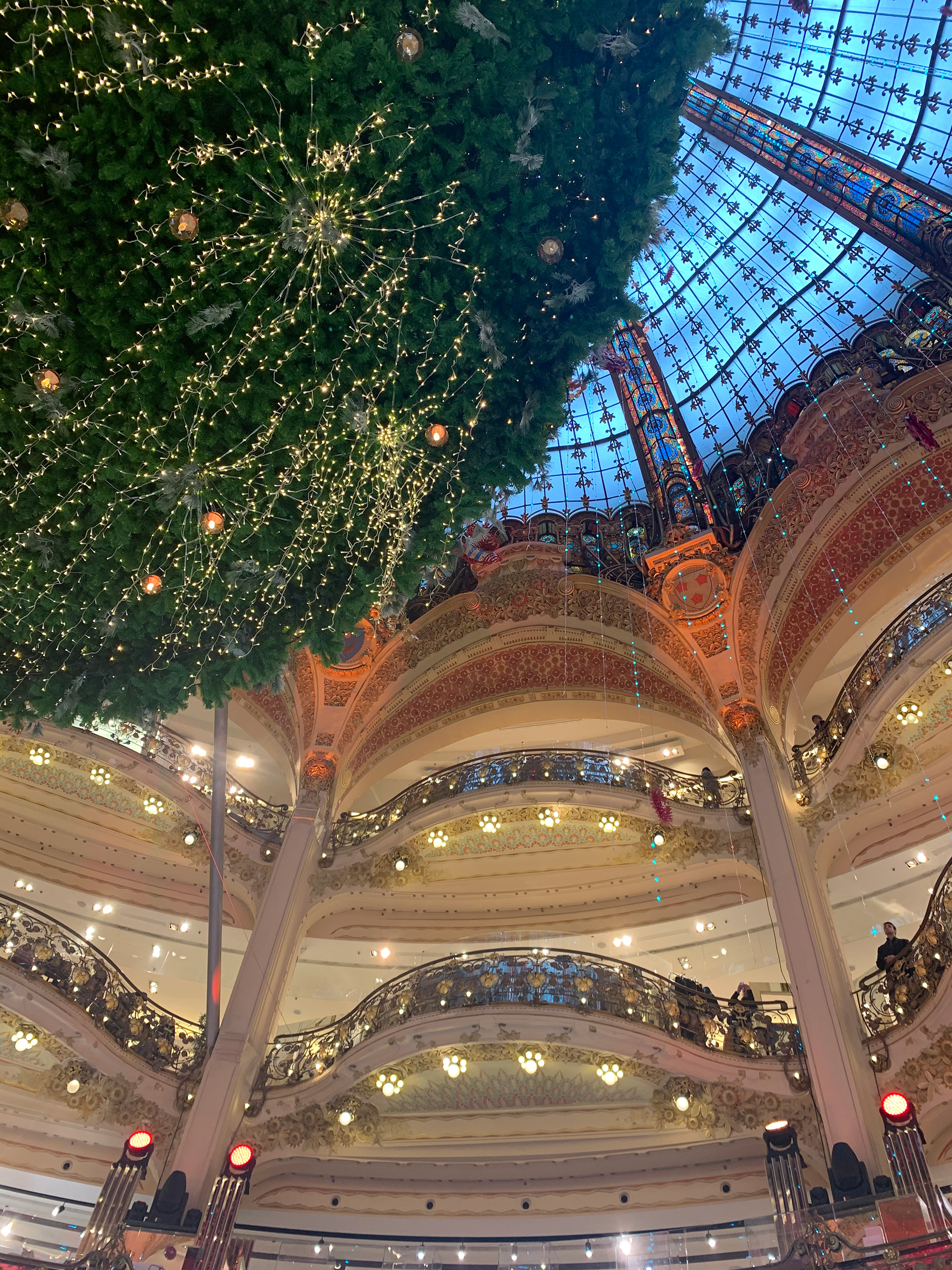 A shopping mall in Paris decked up for Christmas | Christmas Market | Paris| STIRworld