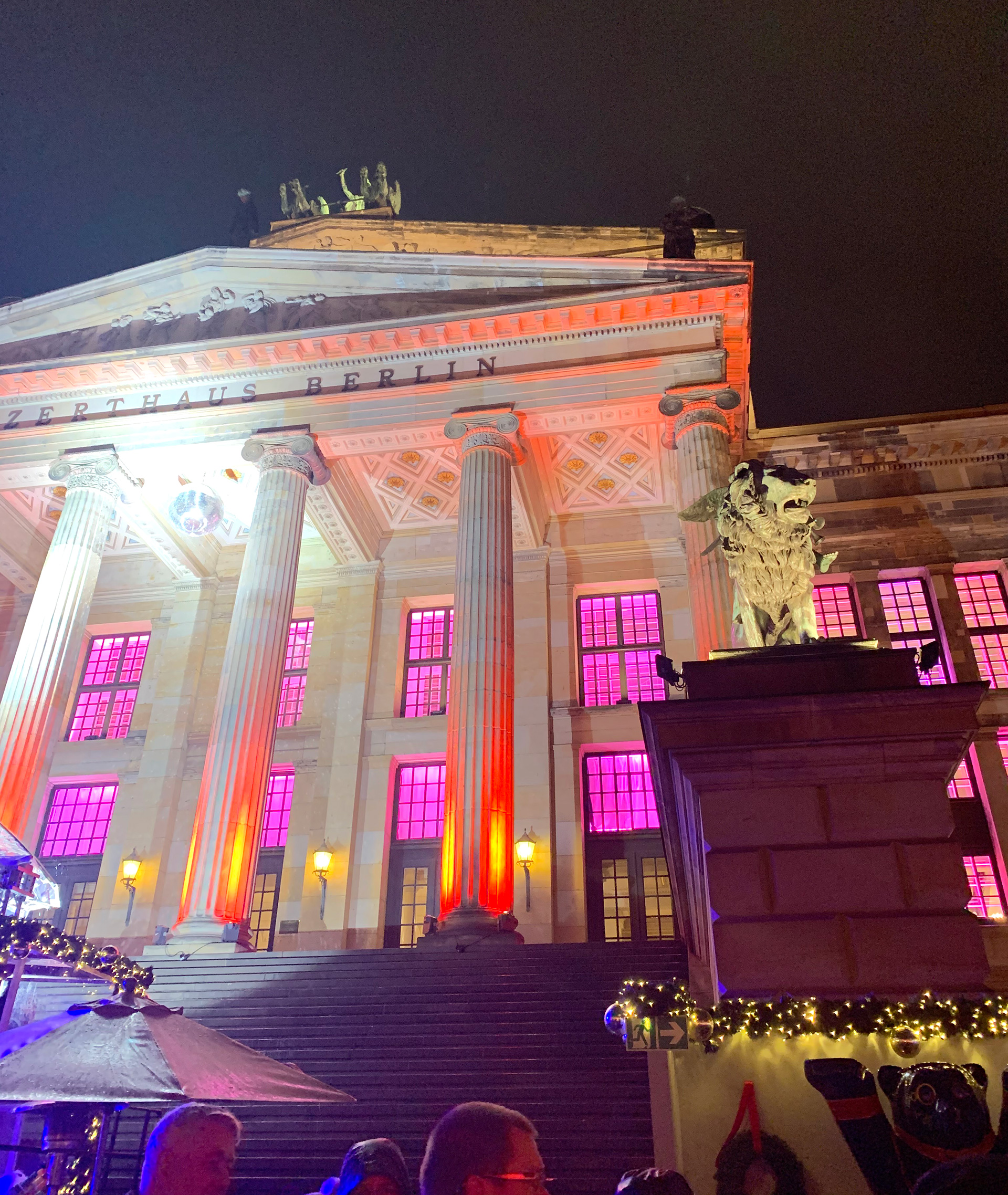 Berlin Konzerthaus, an example of neo-classical architecture | Christmas Market | Berlin | STIRworld