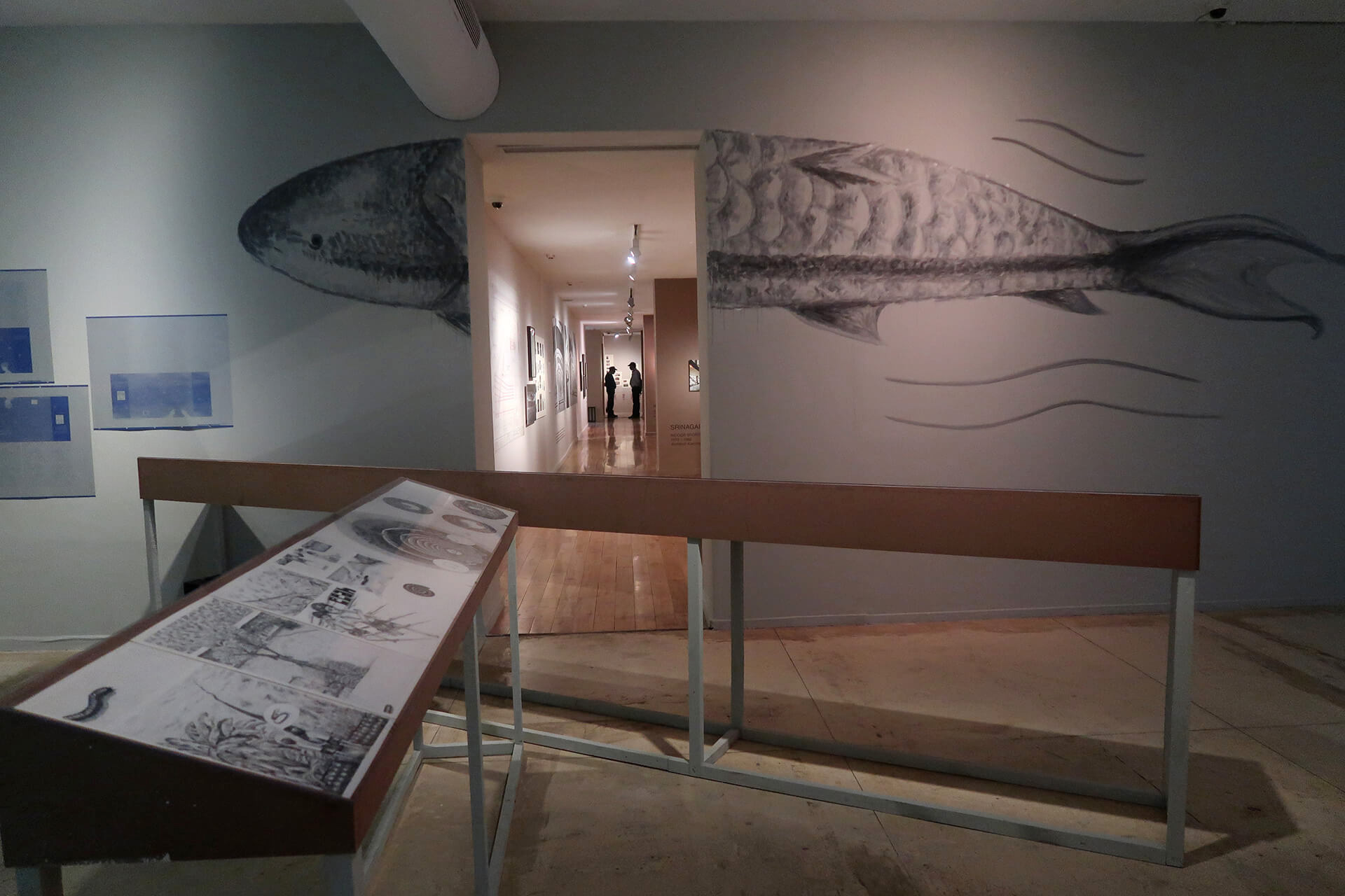 A giant fish greets you at the Summer's Children exhibition at KNMA, Delhi| Summer's Children | Anpu Varkey | STIRworld