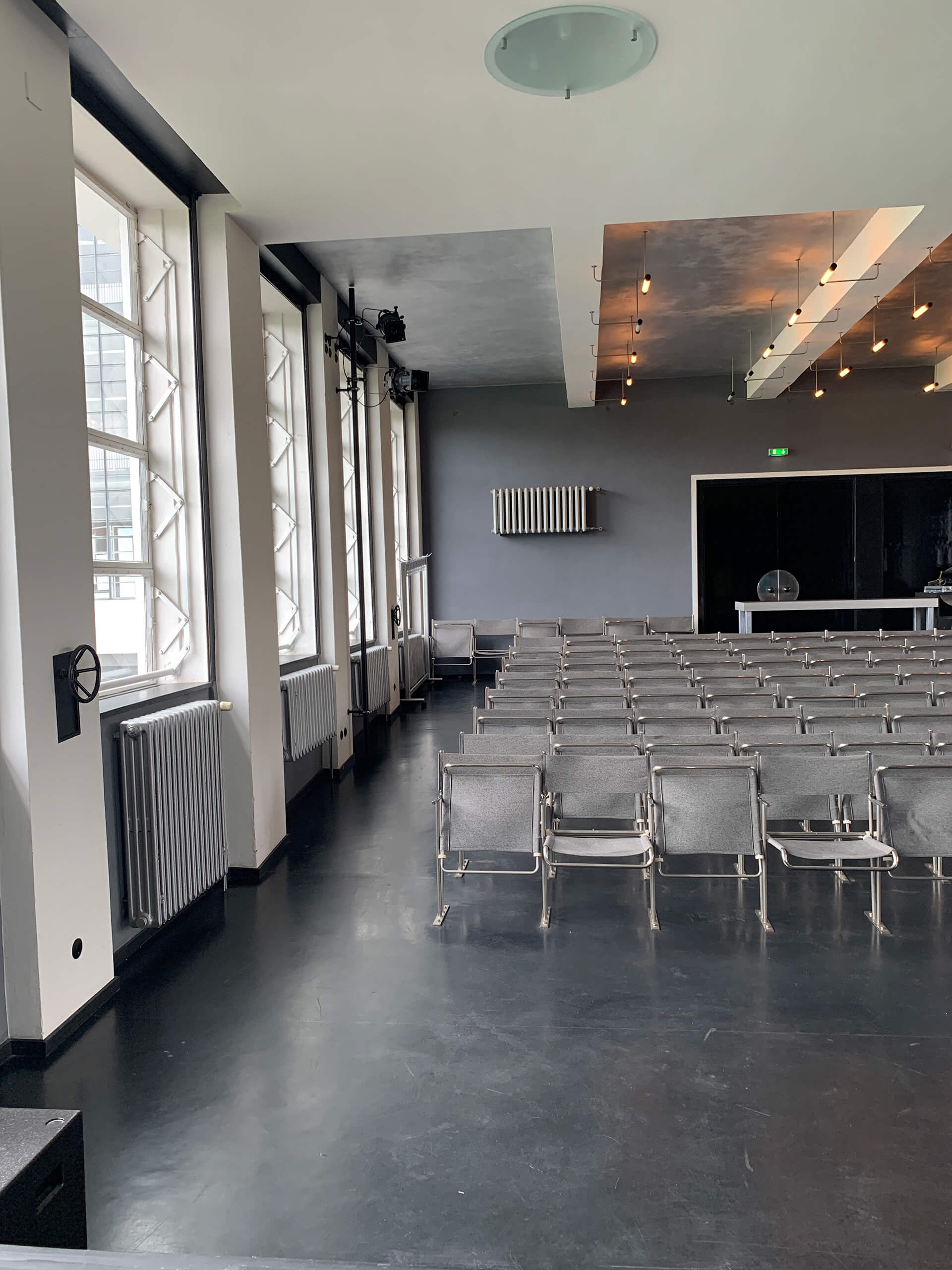 The auditorium of the Dessau campus with Marcel Breuer chairs | Bauhaus | Germany | STIRworld