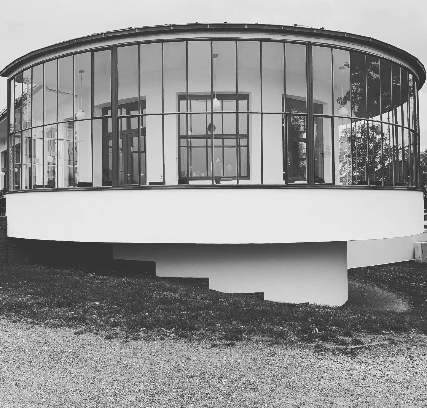 Kornhaus restaurant by Carl Fieger 1930 (a draughtsman at Walter Gropius's office), the only Bauhaus structure built on a waterfront property | Bauhaus | Germany | STIRworld