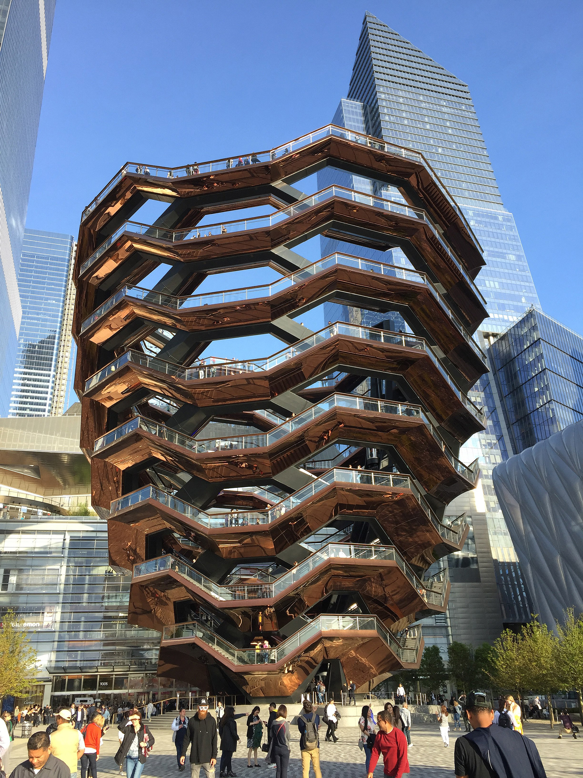 The Vessel at the Hudson Yards Plaza, 2019 | Thomas Heatherwick | Heatherwick Studio | STIRworld
