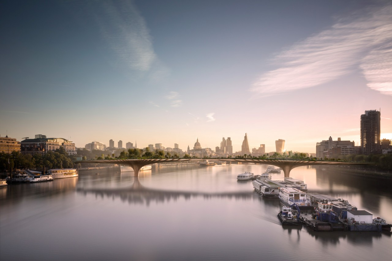 Design of the Garden Bridge, London | Thomas Heatherwick | Heatherwick Studio | STIRworld