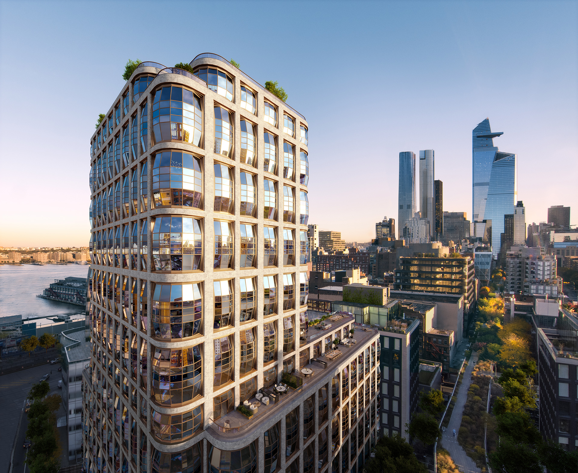 High Line flanking condos by Thomas Heatherwick, Lantern House | Thomas Heatherwick | Heatherwick Studio | STIRworld