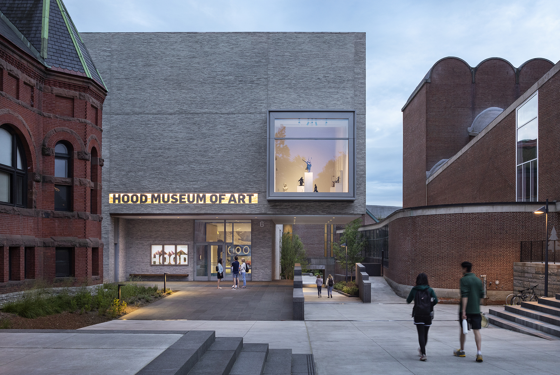 Hood Art Museum project restores the old building and adds an annex |Billie Tsien | Tod Williams Billie Tsien Architects | STIRworld