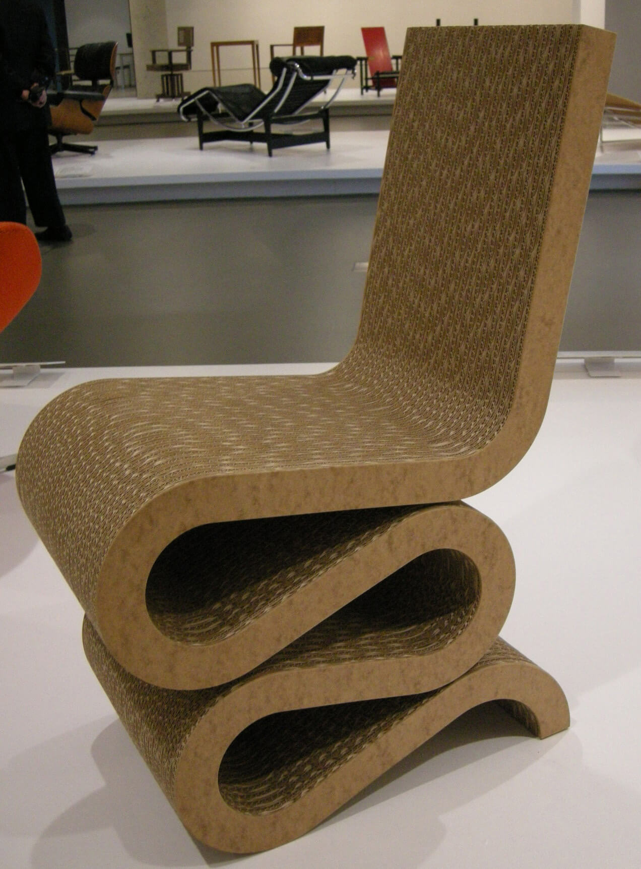 Cardboard furniture by Frank Gehry  | Frank Gehry | STIRworld