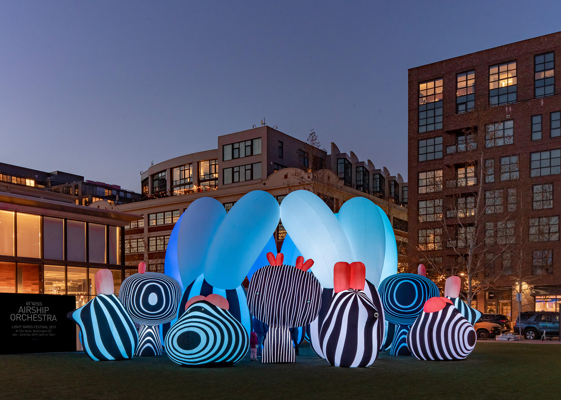 Airship Orchestra by ENESS features 20 inflatables extending over an area of 400 sqm | Airship Orchestra | ENESS | STIRworld