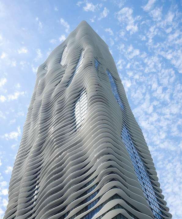 The Aqua Tower in Chicago by Studio Gang | Jeanne Gang | STIRworld