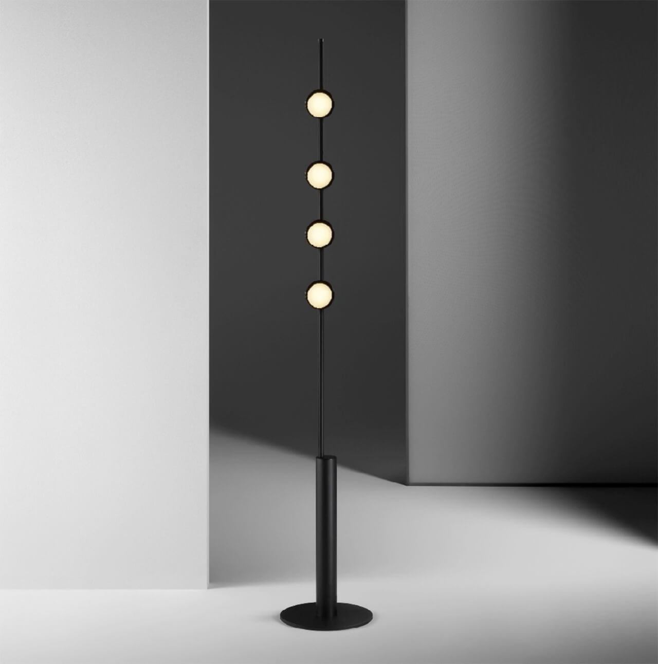 Typography Floor Lamp | Made in the Netherlands: Curated by Wendy Plomp | STIRworld