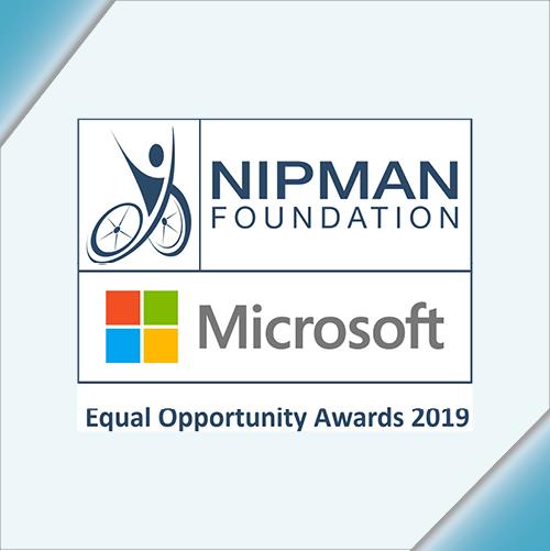 Nipman Foundation - Microsoft Equal Opportunity Awards 2019