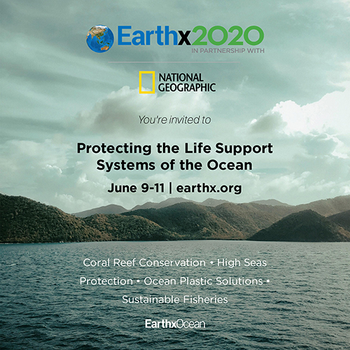 Celebrate Oceans Week with EarthX & National Geographic