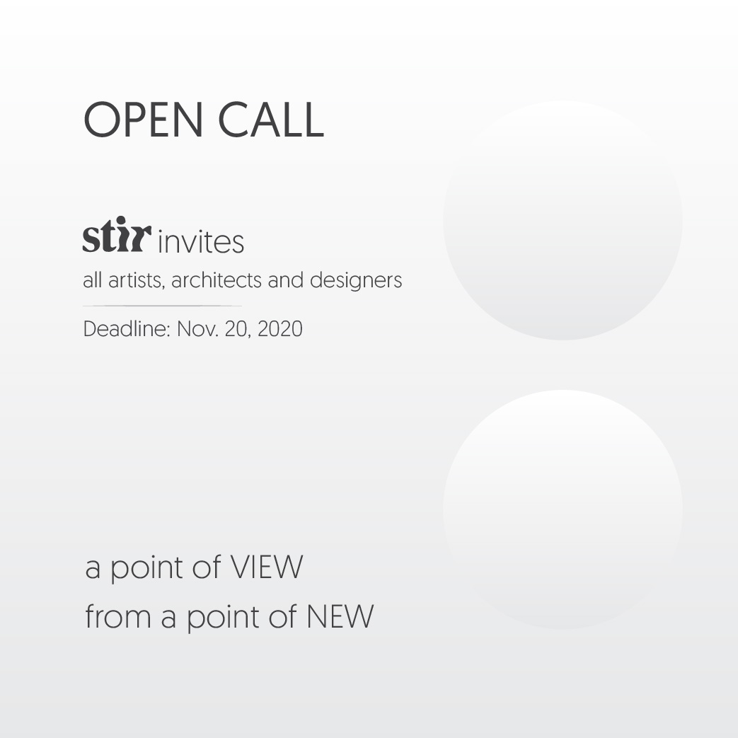 OPEN CALL: a point of NEW