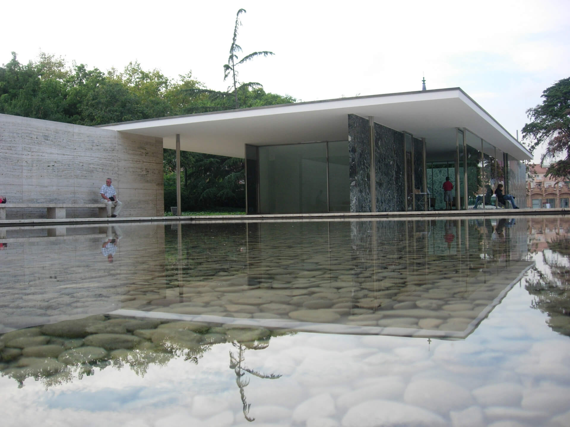 Barcelona Pavilion designed by Ludwig Mies Van Der Rohe in 1929| Private Wellness Spa Pavilion  | Smartvoll Architects | STIRworld