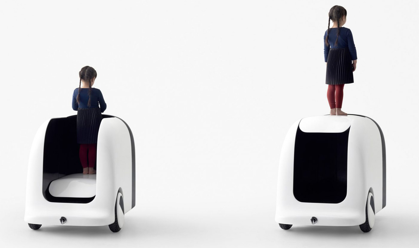 Agaru lets children move through parks and help them reach other cars | Nendo | Tokyo | STIRworld